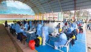 Segunda jornada de vacunatón contra el COVID-19